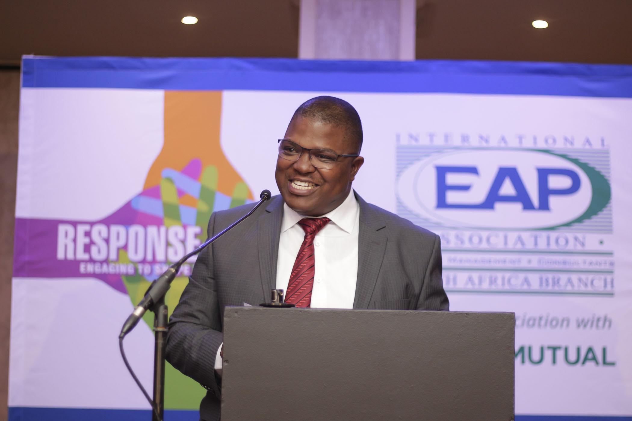 Cllr Lesiba Mpya (Acting Mayor of Ekhuruleni)