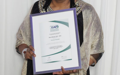 A message from our incoming EAPA-SA President Thiloshni Govender