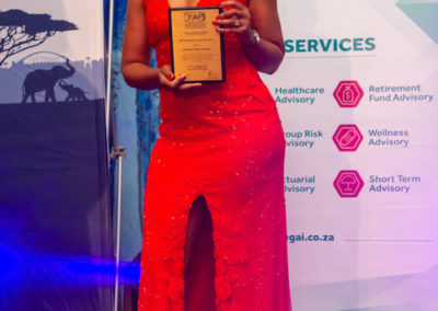 Individual EAP Practitioner of the Year 2018 Ingrid Letswane